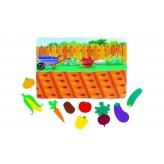"*Развивающая игра из фетра ""Овощи"" - фото 2"
