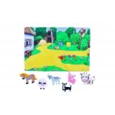 """*Развивающая игра из фетра """"Домашние животные"""" - фото 2"""