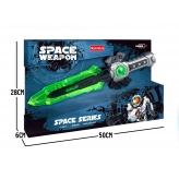 Меч іграшковий SPACE, зі світлом, працює від батарей - фото 3