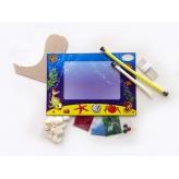 фоторамка из ракушек Ранок креатив набор для творчества купить Киев