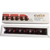 Деревянная игрушка Cubika Поезд Экспресс на магнитах (15108) рис. 0