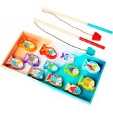 Деревянная игрушка Cubika Рыбалка 14 деталей (13739) (4823056513739) рис. 1