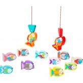 Деревянная игрушка Cubika Рыбалка 14 деталей (13739) (4823056513739) рис. 2