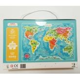 Пазл DoDo Карта мира, англ.яз.300123