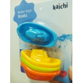 Іграшка K999-217B для купання, катер, 4 шт. (4 кольори), лист, 20-26-6 см. рис. 1