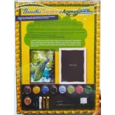 Вышивка лентами и бисером Павлины Danko Toys (БВ-01Р-09)