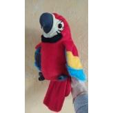М'яка іграшка повторюшка Папуга