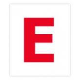 Комплект карточек «Буквы» МИНИ (рус. язык) буква Е