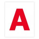 Комплект карточек домана МИНИ Буквы (укр. язык) 2