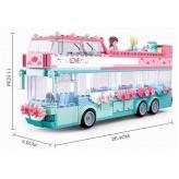 Конструктор SLUBAN Весільний автобус, 379 деталей (M38-B0769)