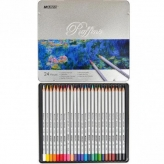 Олівці Marco Raffine 24 кольори шестигранні 7100-24TN