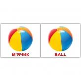 Комплект карток Домана «Іграшки/Toys» МІНІ 40 купити Київ Україна