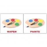 Карточки Домана Мини на украинском Игрушки купить Киев Украина